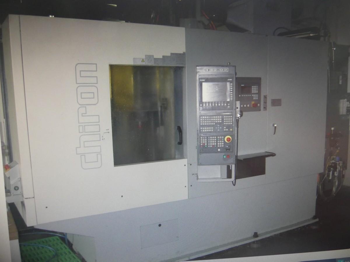 Обрабатывающий центр - вертикальный CHIRON FZ 15 KW фото на Industry-Pilot