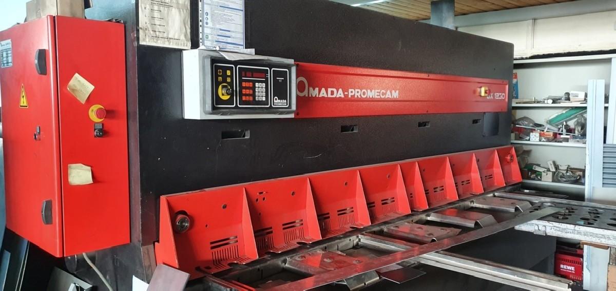 Гидравлические гильотинные ножницы AMADA GX1230 фото на Industry-Pilot