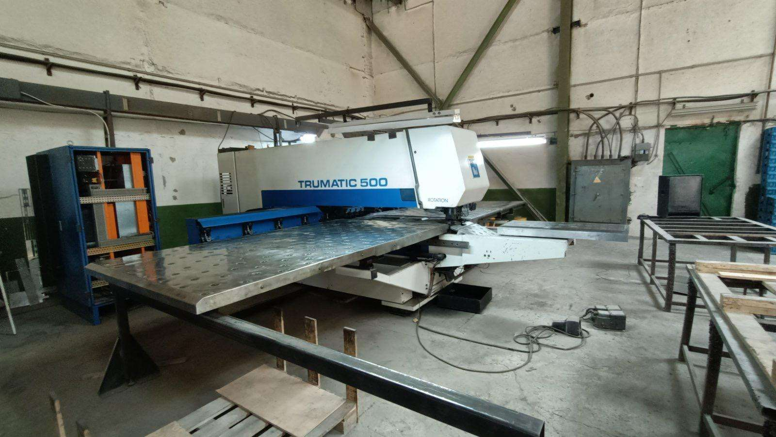 Turret Punch Press Trumpf TC 500 R - 1600  photo on Industry-Pilot