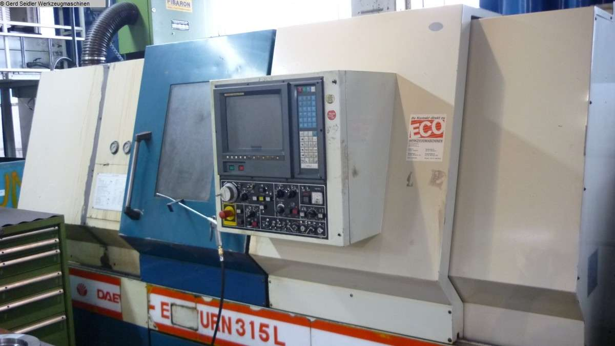 CNC Turning Machine - Inclined Bed Type DAEWOO Ecoturn 315 photo on Industry-Pilot