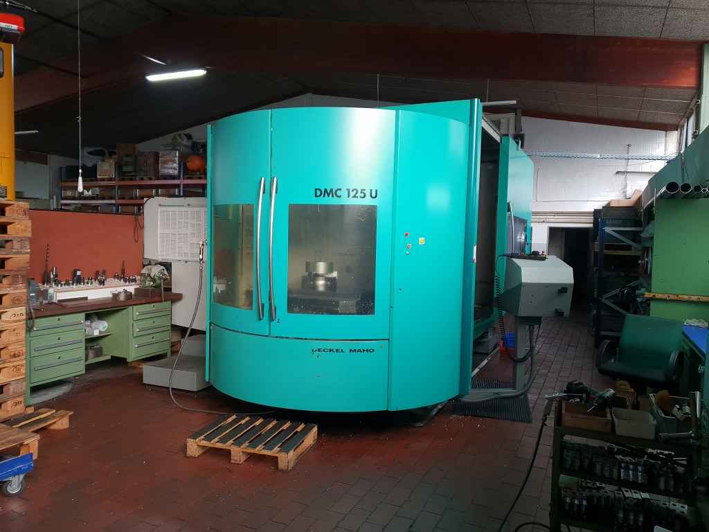 Machining Center - Universal DMG DMC 125 U used buy P0044292