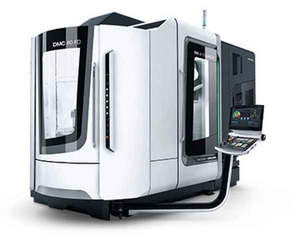 Machining Center - Universal DMG MORI DMC 80 FD duoBLOCK130062 photo on Industry-Pilot