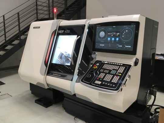 CNC Turning Machine DMG MORI GILDEMEISTER NEF 400015422 photo on Industry-Pilot