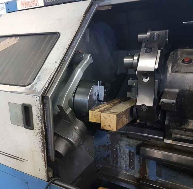 CNC Turning Machine MAZAK QT 35 universal 1000 used buy P0045034