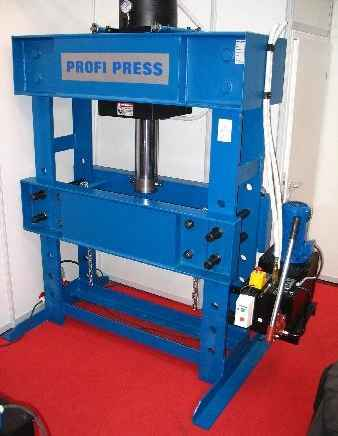 Tryout Press - hydraulic 1 PROFI PRESS PP 160 M-H-2 фото на Industry-Pilot