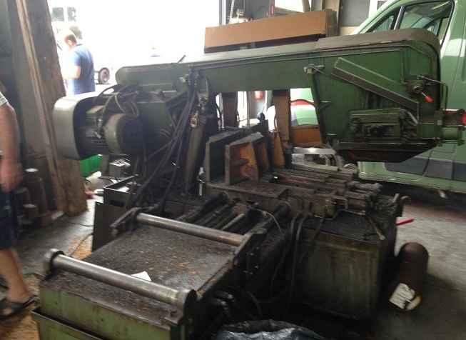 Ленточнопильный автомат - гориз. AMADA MEGA 450 HAAS фото на Industry-Pilot