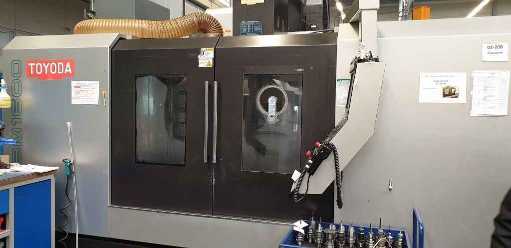 Machining Center - Vertical Toyoda-Awea BM 1600  фото на Industry-Pilot