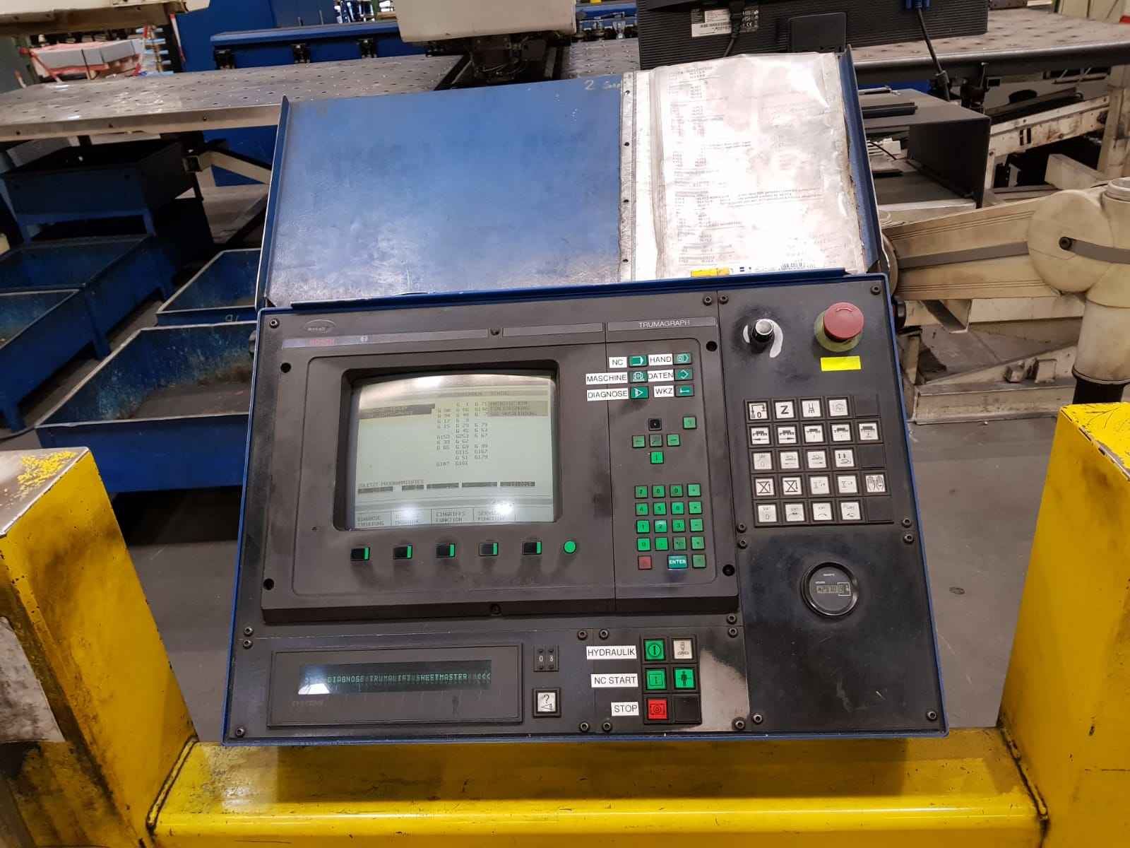 Координатно-пробивной пресс Trumpf TC 500R 1600 FMC фото на Industry-Pilot