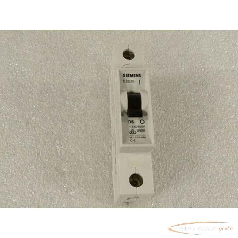Линейный защитный выключатель Siemens 5SX21 D625780-B17 фото на Industry-Pilot