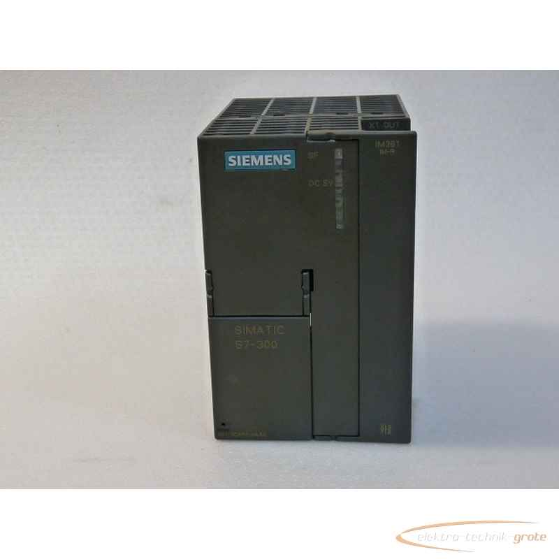 Активизация, запуск Siemens 6ES7361-3CA01-0AA0 Simatic S7-300E Stand 0530460-P 11C фото на Industry-Pilot