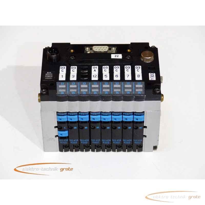 Активизация, запуск Festo komplette Ventilinseleinheit mit 8 Magnetventilen und Elektrik-43655-P 10B фото на Industry-Pilot