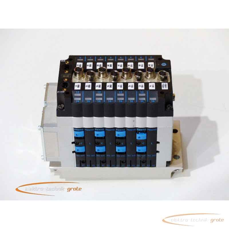 Активизация, запуск Festo komplette Ventilinseleinheit mit 4 Magnetventilen Elektrik- und Multipol43657-P 18C фото на Industry-Pilot