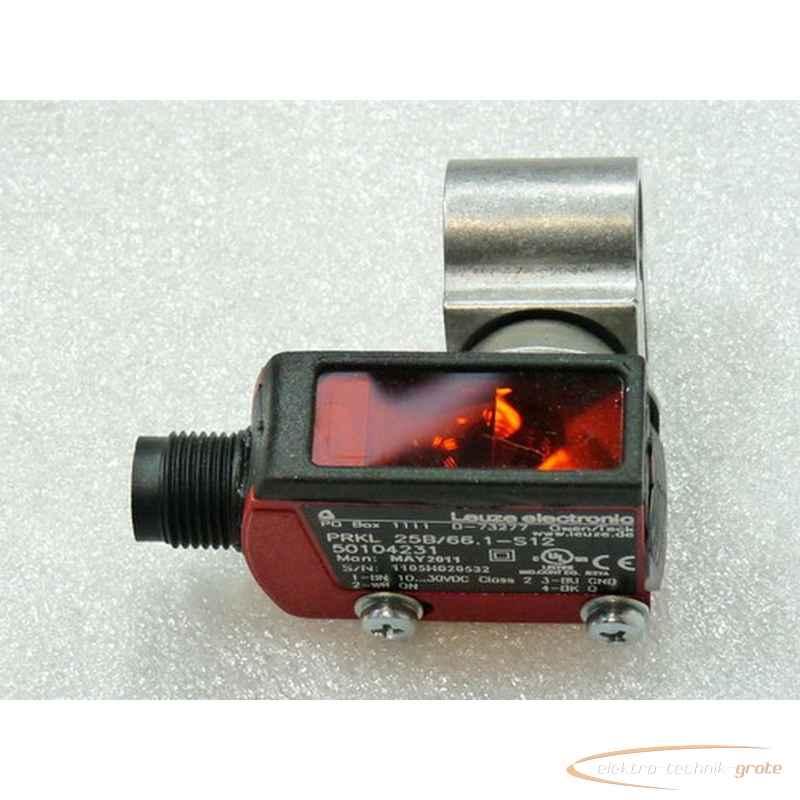 Рефлекторный датчик Leuze PRKL 25B-66.1-S12Art Nr 50104231 - ungebraucht -19992-B194 фото на Industry-Pilot