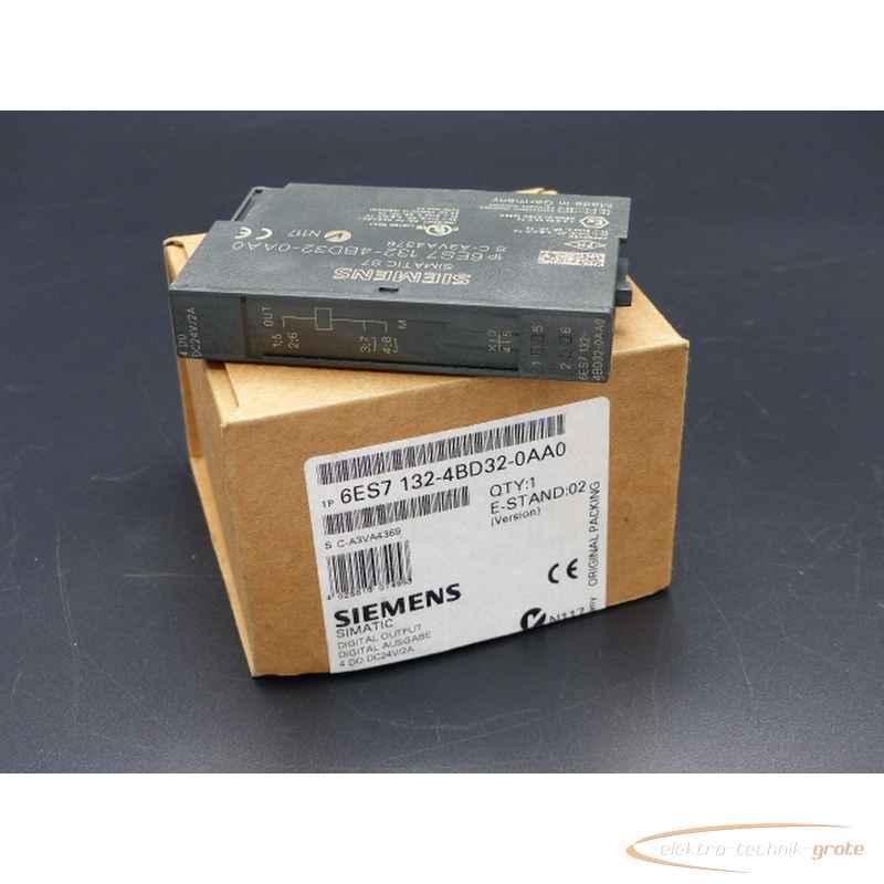 Simatic Siemens S7 6ES7132-4BD32-0AA0 Elektronikmodul ungebraucht! 46810-B235 фото на Industry-Pilot