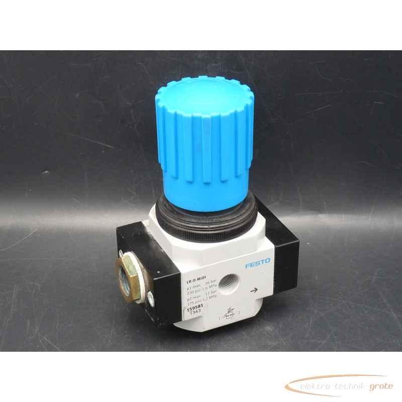 Манометр Festo LR-D-MIDI Druck-Regelventil ohne15958152699-I 131 фото на Industry-Pilot