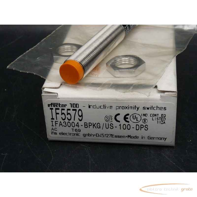 NEW IFM EFECTOR PROXIMITY SENSOR IF5579 IFA3004-BPKG//US