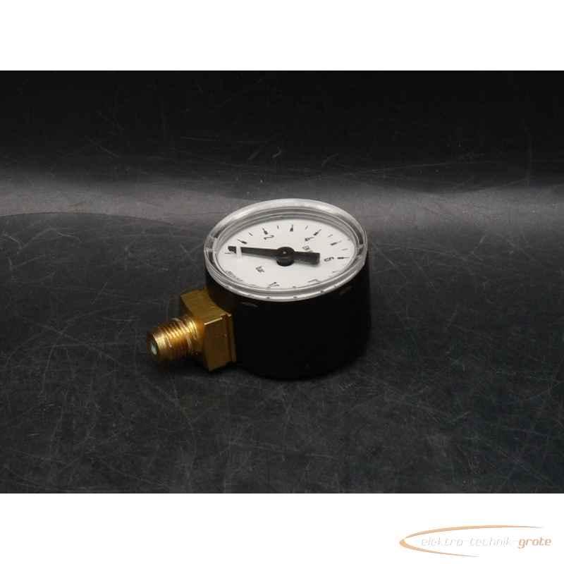 Манометр WIKA 0 - 10 bar Druck- senkrecht Kl. 2,5 - EN 837-1 ungebraucht! 53474-B116 фото на Industry-Pilot