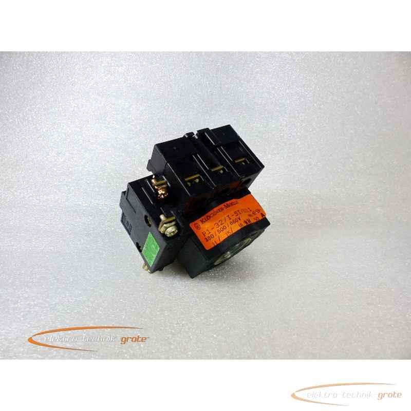 Автоматические выключатели Klöckner Moeller P1-32-I-SI-HI11 Hauptschalter ohne 32330-B22 фото на Industry-Pilot