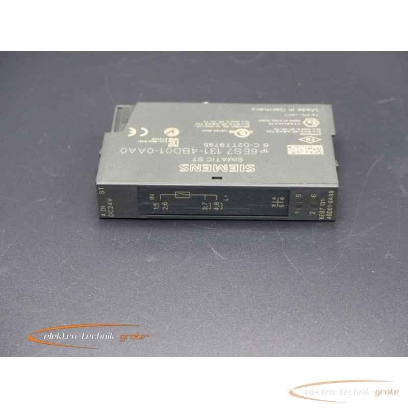 Siemens Simatic S7 El. Modul 4 DI DC24V Typ  6ES7 131-4BD01-0AB0