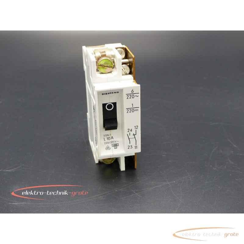 Автоматический выключатель Siemens 5 SN 7 L 10Amit Meldeschalter46554-B196 фото на Industry-Pilot