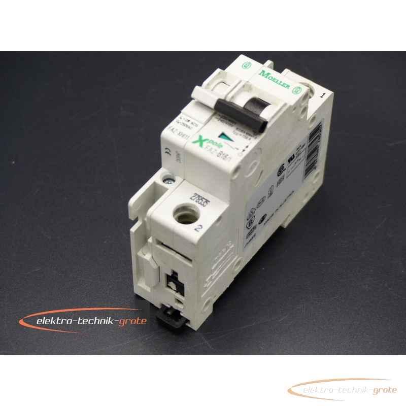 Автоматический выключатель Klöckner Moeller FAZ-B16-1FAZ-XHI11 Hilfsschalter46578-B156A фото на Industry-Pilot