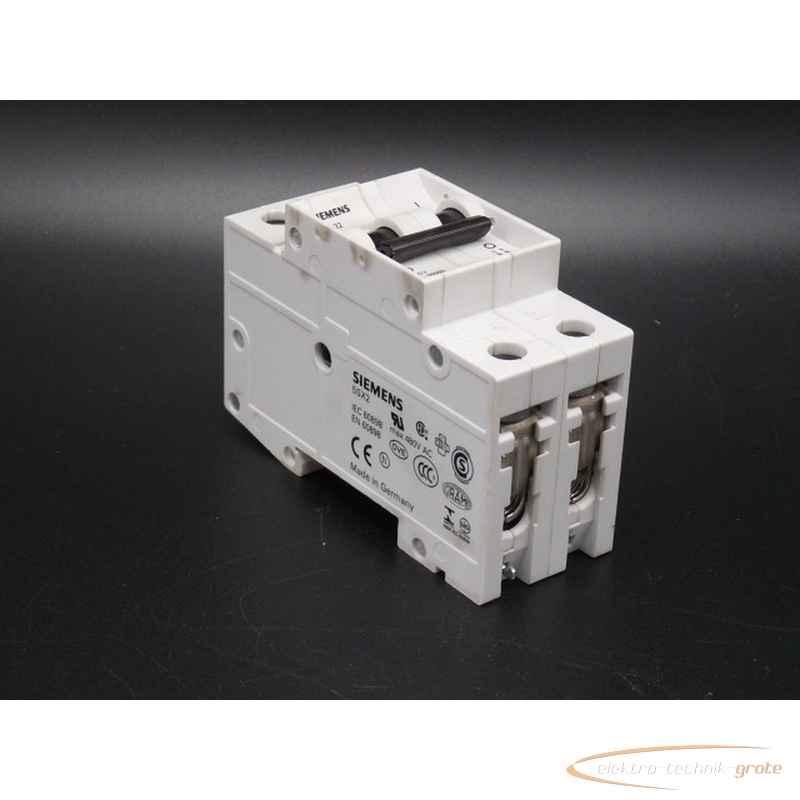 Автоматический выключатель Siemens 5SX22 B10 52117-B240 фото на Industry-Pilot