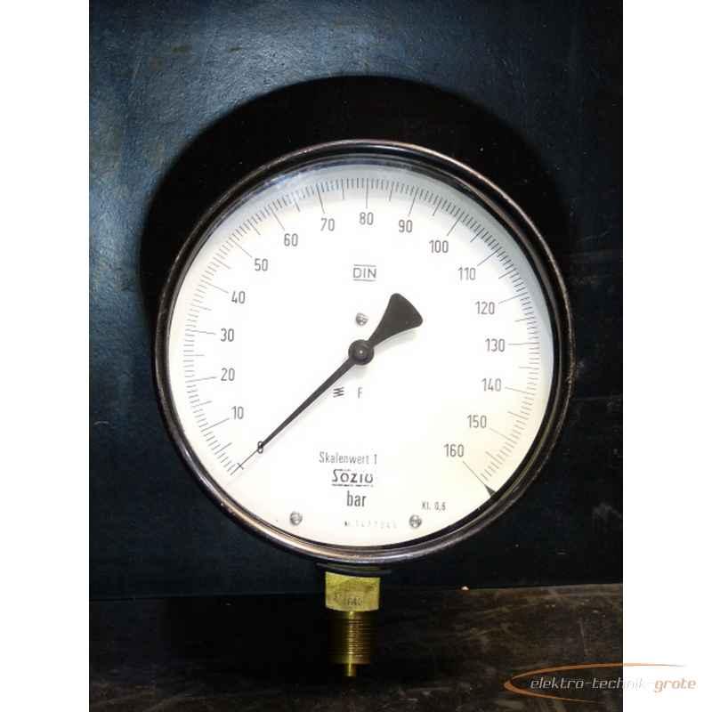 Манометр Sozius 0-160 bar Ø 150 mm50677-L 139 фото на Industry-Pilot