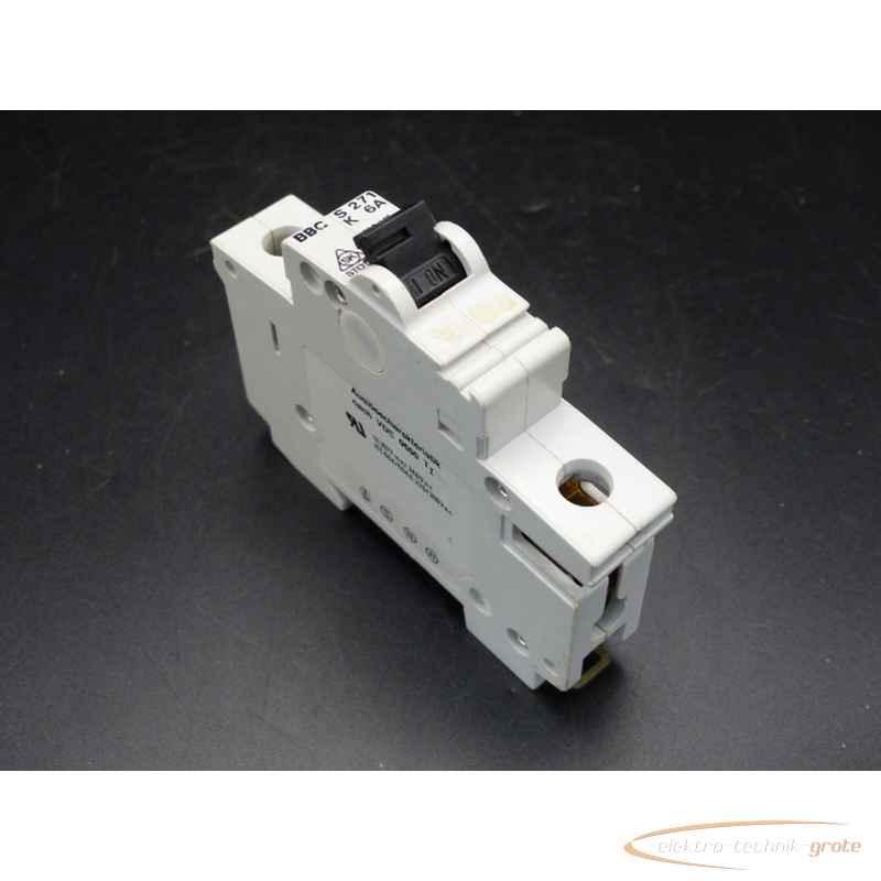 Автоматический выключатель BBC S 271 K 6A 33922-B243 фото на Industry-Pilot