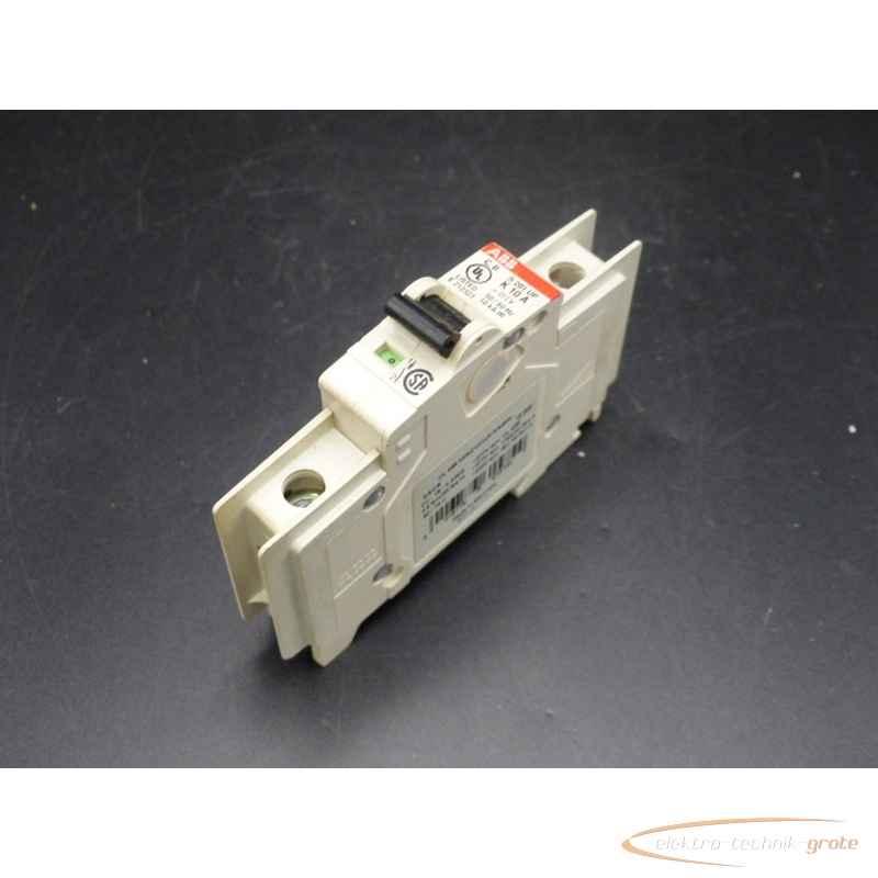 Автоматический выключатель ABB S201 UP K10A 34248-B236 фото на Industry-Pilot