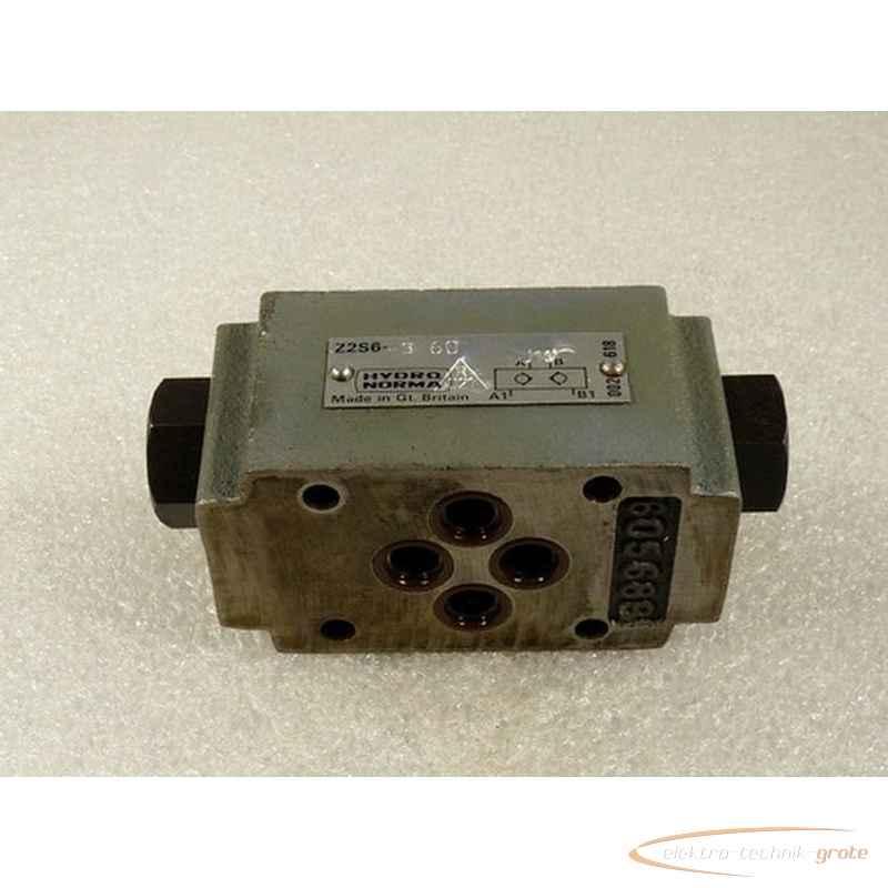 Back valve Hydronorma Z2S6-3-60 J19 30171-B12 photo on Industry-Pilot