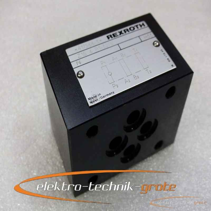 Back valve Rexroth Z1S 6 P1-32-V Hydraulisches 30696-B78 photo on Industry-Pilot