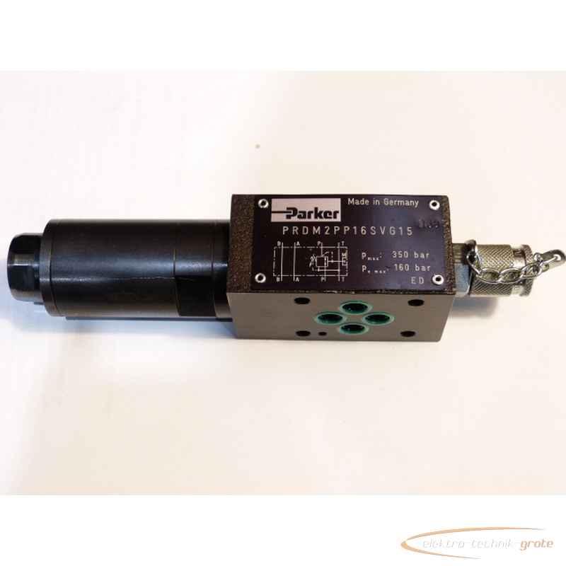 Гидравлический клапан Parker PRDM2PP16SVG15350 bar50266-L 72 фото на Industry-Pilot