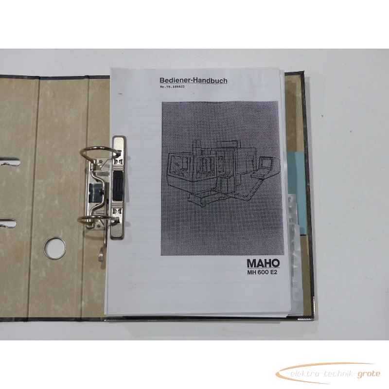 Инструкция MAHO Handbuch55238-I 140 фото на Industry-Pilot