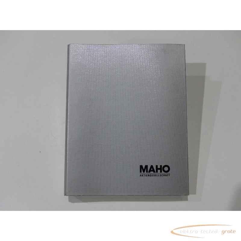 Инструкция MAHO Handbuch55274-I 140 фото на Industry-Pilot
