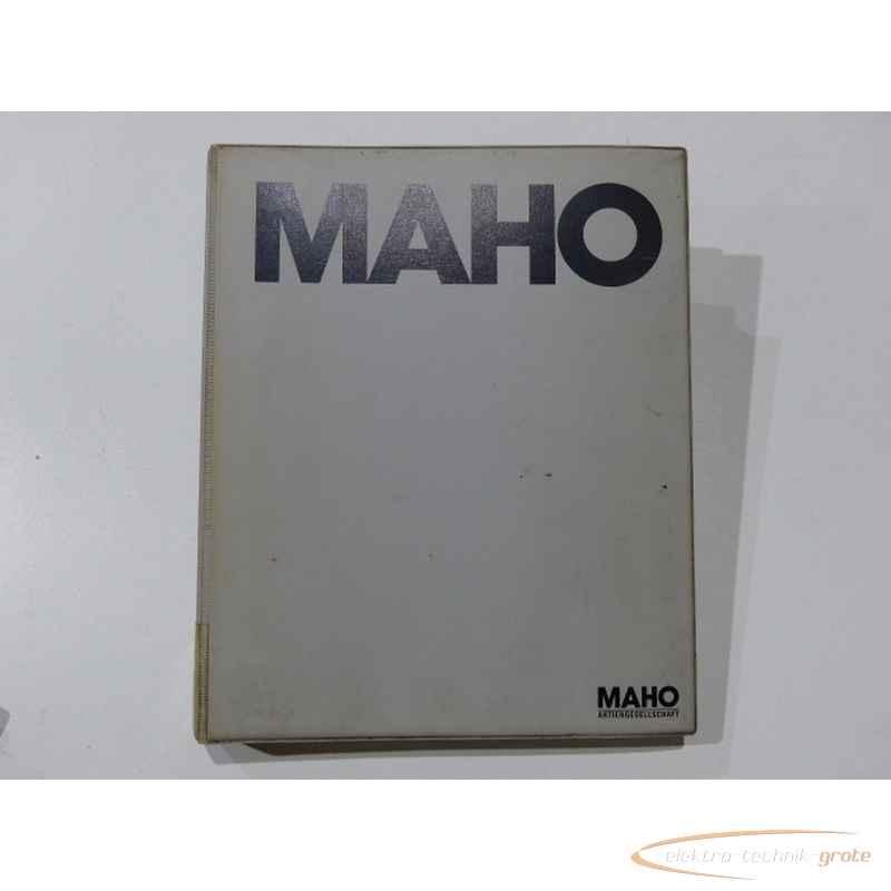 Инструкция MAHO Handbuch55275-I 140 фото на Industry-Pilot