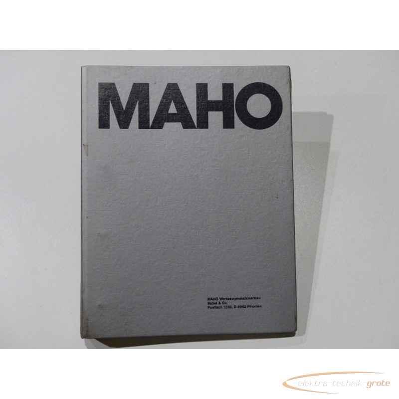 Инструкция MAHO Handbuch55278-I 140 фото на Industry-Pilot