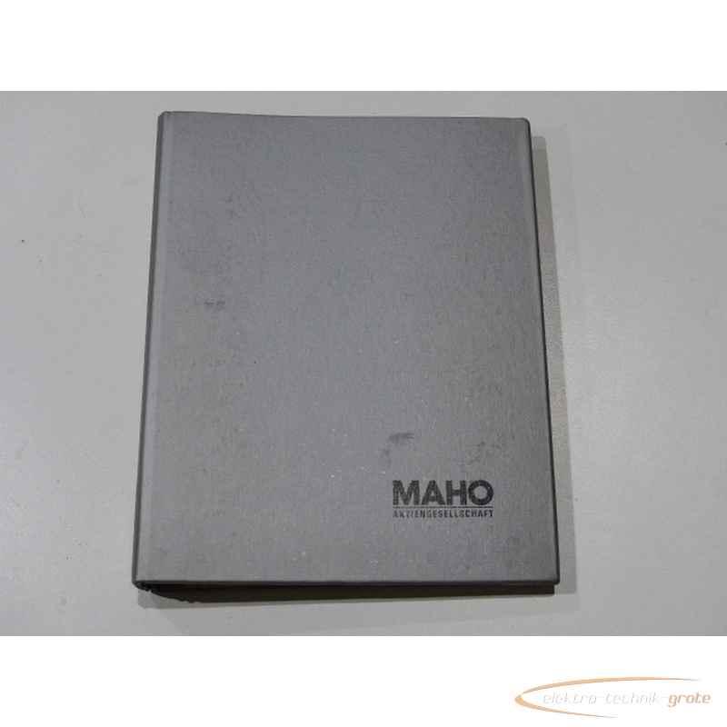 Инструкция MAHO Handbuch55294-I 140 фото на Industry-Pilot