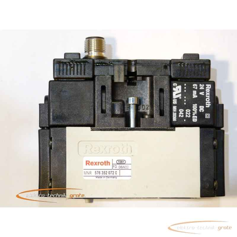 Пневматический вентиль Rexroth Pneumatikventil38397-L 33 фото на Industry-Pilot