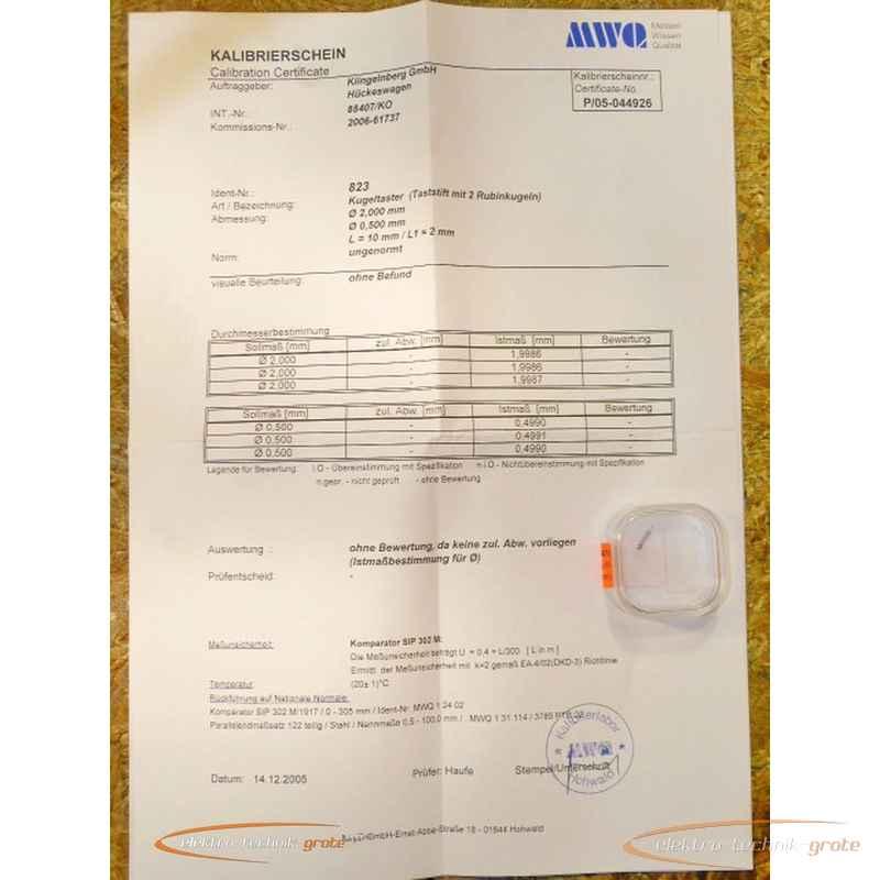 Измерительный щуп с шариком Messwelk Kugeltaster38648-P 23D фото на Industry-Pilot