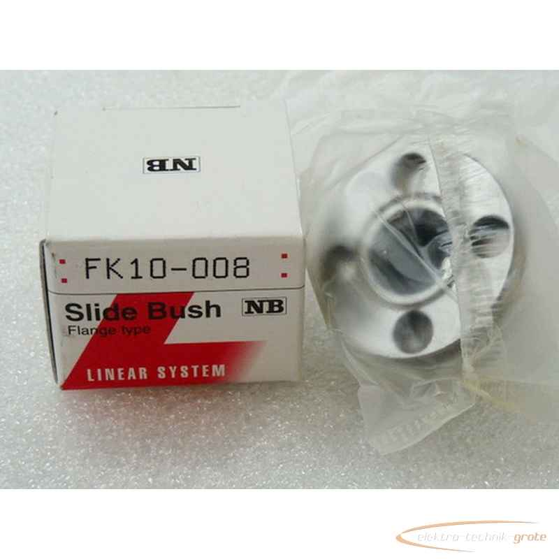 Nippon Bearing Slide Bush Linear System FK 10-008 - ungebraucht - in OVP19156-B104 photo on Industry-Pilot