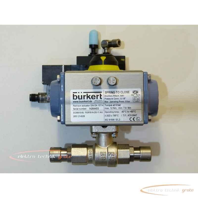 Bürkert SC15-6 - SC00015-6U F03F05-N-DS-11 AU Pneumatischer Schwenkantrieb 21452950003-I 22 photo on Industry-Pilot