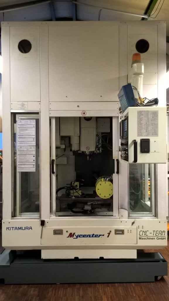 Обрабатывающий центр - вертикальный Kitamura Mycenter 1 фото на Industry-Pilot