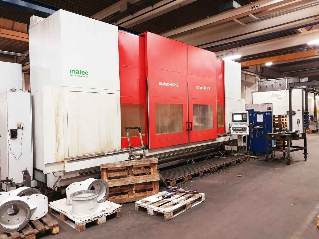 Travelling column milling machine Matec 40-HV. photo on Industry-Pilot