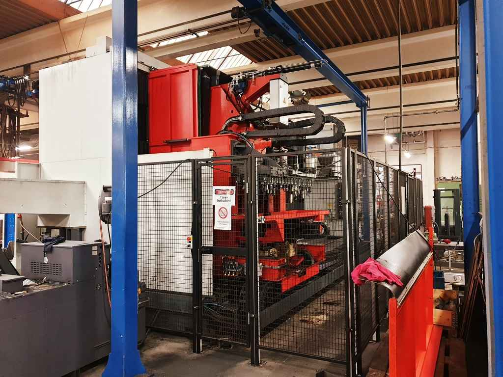 Travelling column milling machine Matec 40-HV. photo on Industry-Pilot