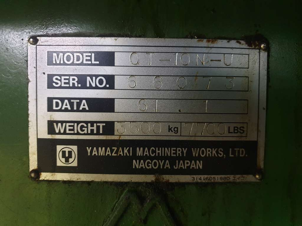 CNC Turning Machine Mazak QT 10 N фото на Industry-Pilot