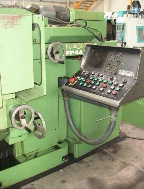 Инструментальный фрезерный станок - универс. DECKEL FP 4 A фото на Industry-Pilot