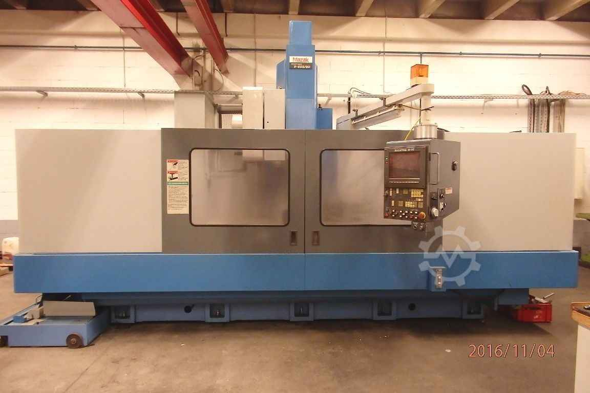 Machining Center - Vertical MAZAK V655-80 photo on Industry-Pilot