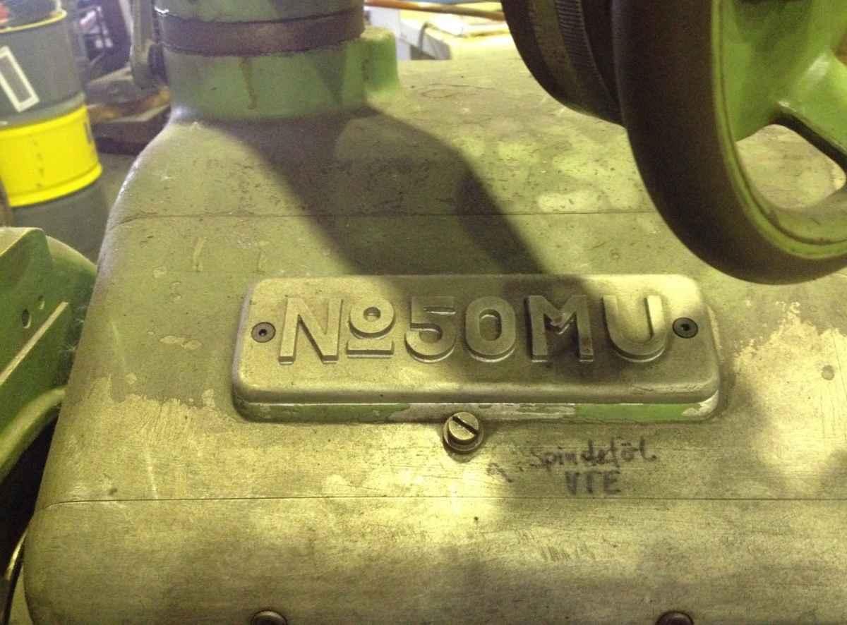 Cylindrical Grinding Machine - Universal KELLENBERGER No. 50 MU photo on Industry-Pilot