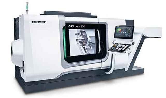 CNC Turning Machine DMG MORI GILDEMEISTER CTX beta 800 photo on Industry-Pilot