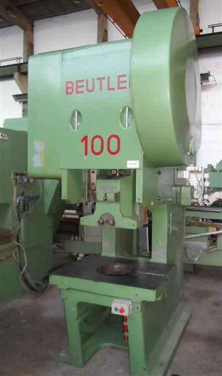 Эксцентриковый пресс - одностоечный BEUTLER PDR 100 фото на Industry-Pilot